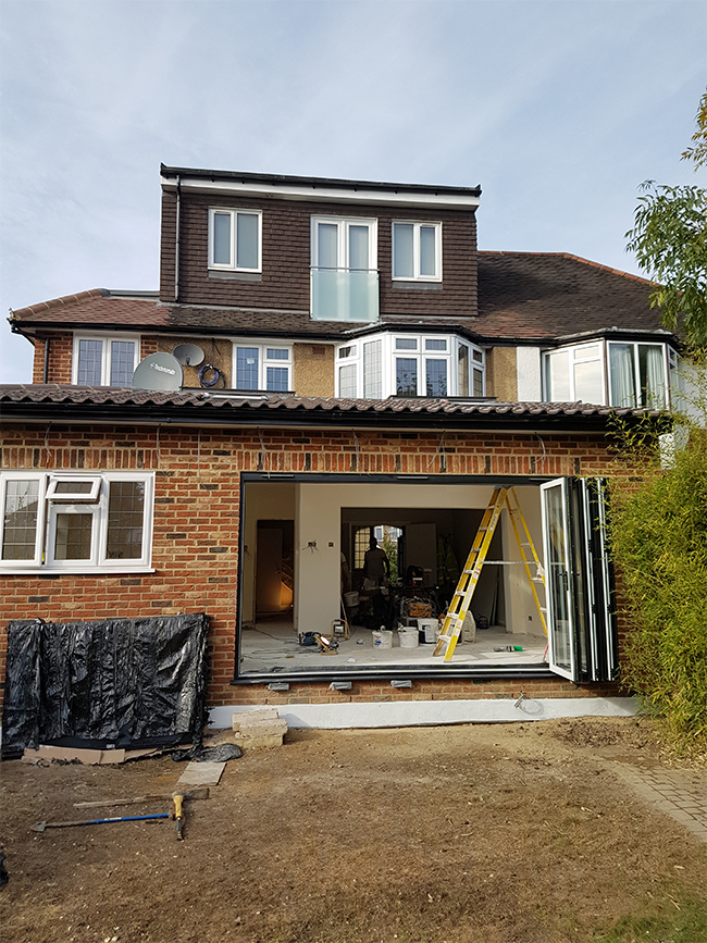BARNET double storey Extension