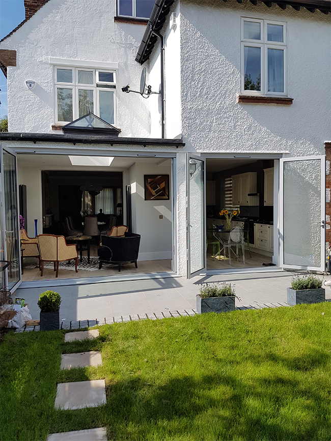 HIGHGATE rear extension and full refurbishment